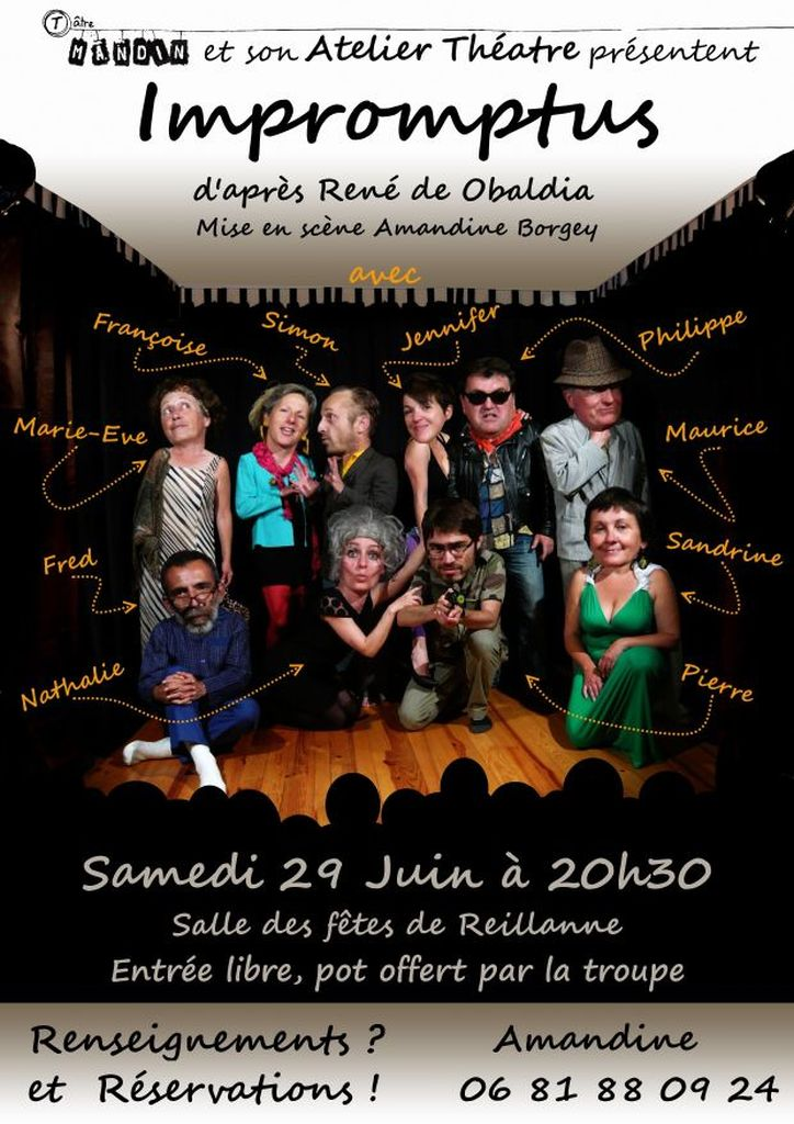 spectacle atelier theatre mandin 2012-2013