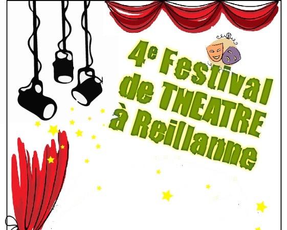 Festival de théâtre à Reillanne: 24, 25, 26 mai 2018 !